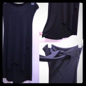 Juniors Little black strapless dress